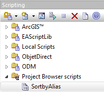 sparx enterprise architect project browser script sortbyalias